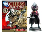 DC Chess Figurine Collection #19 Hush Black Pawn Eaglemoss
